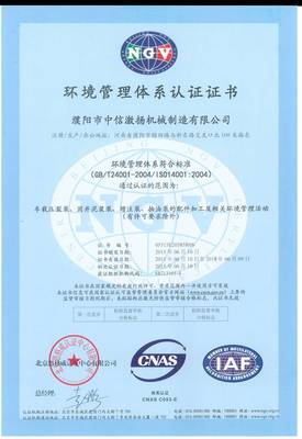 ISO14001:2004 Chinese